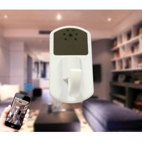 720P Wifi Spy Camera With Night Vision And Motion Detection - HD Cloth Hook Camera